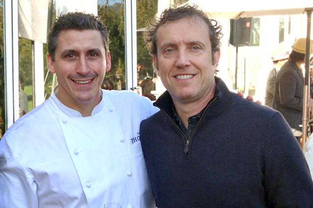 Chef Brad Farmerie (Saxon & Parole)