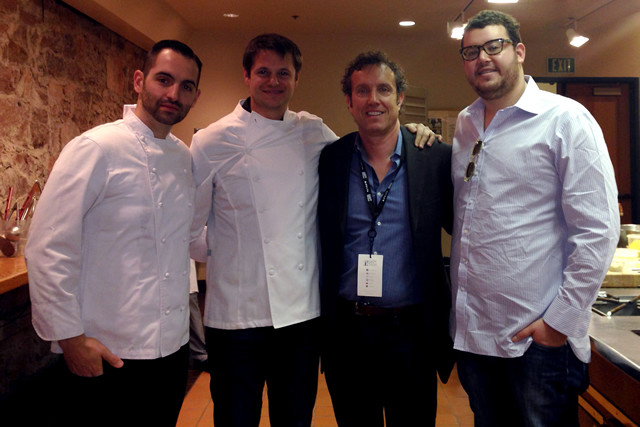 Chefs Mario Carbone, Rich Torrisi