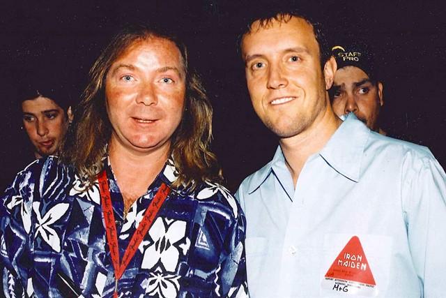Dave Murray, Iron Maiden