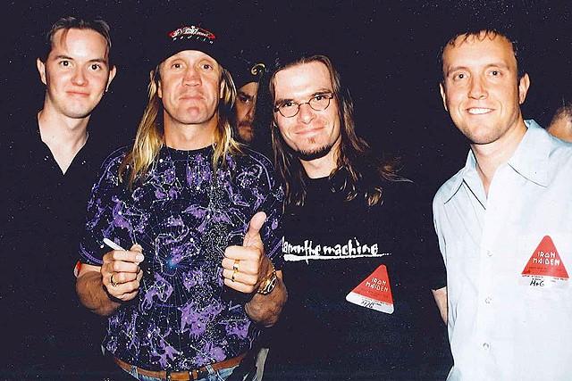 Nico McBrain, Iron Maiden