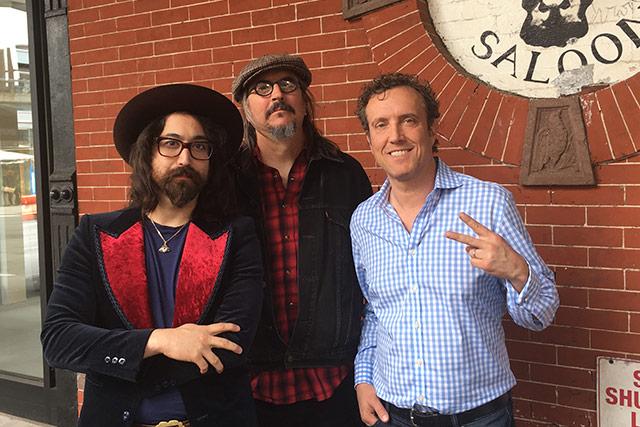 Sean Lennon and Les Claypool