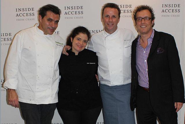 Chefs Todd English, Alex Guarnaschelli, Marc Murphy